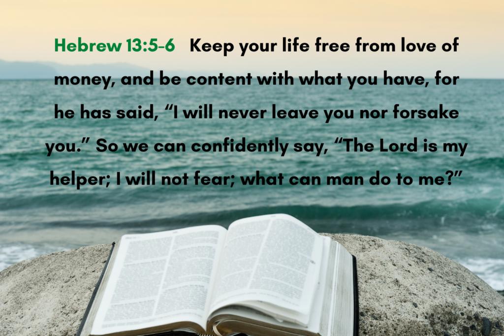 Hebrew 13_5-6