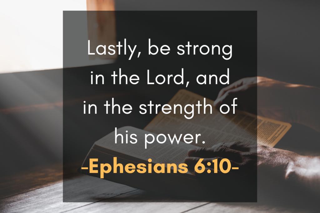 Ephesians 6_10