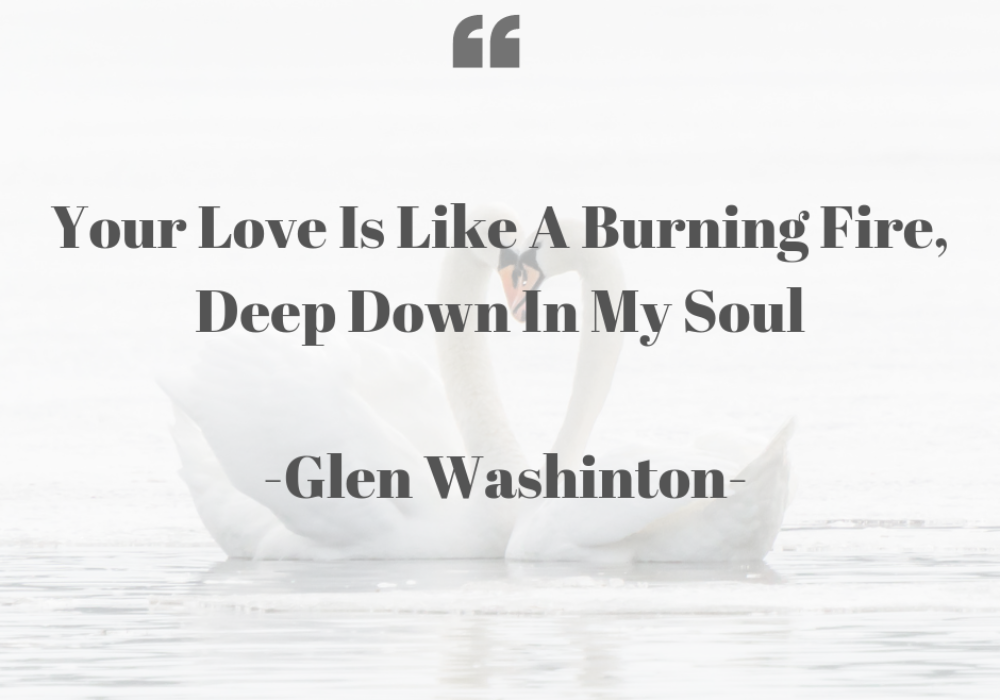 Glen Washinton Your Love